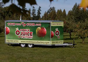 Mobile Juice Factory saves viable fruit from the landfilles