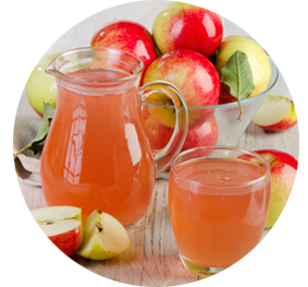 Orchard-pressed Apple Juice in BC
